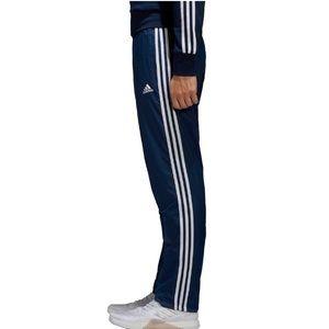 Men's Adidas 2XL Navy Triple-Stripe Pant